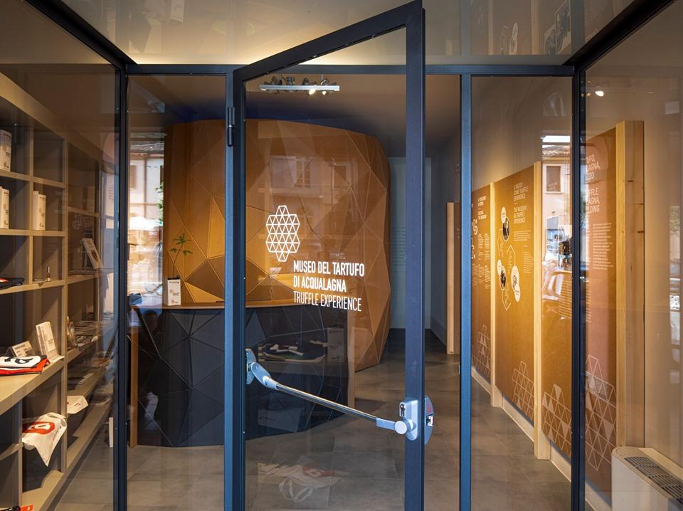 Museo del tartufo, interno