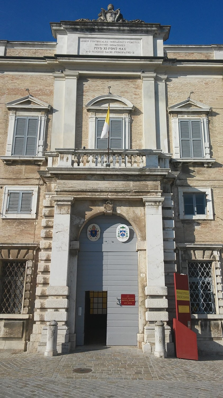 Pinacoteca Diocesana, esterno