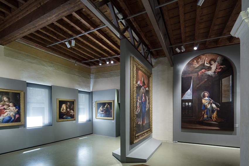 Pinacoteca Podesti, Sala grandi artisti e grandi committenze